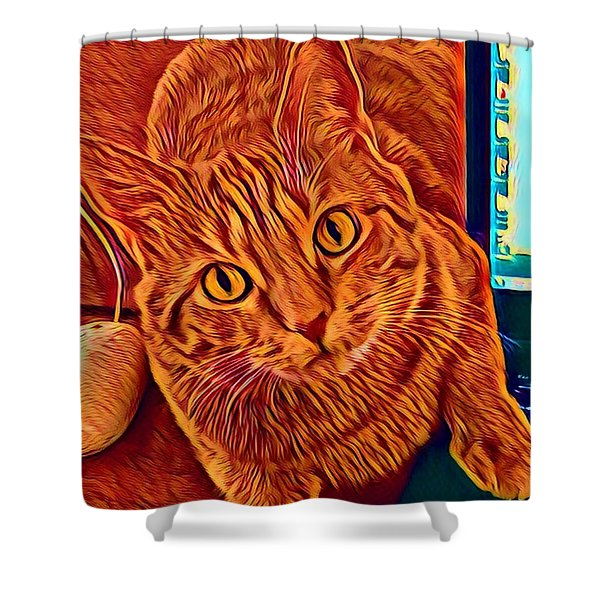 Is There A Mouse In The House? Shower Curtain