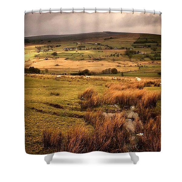 Is It A Moor Or A Heath? Shower Curtain