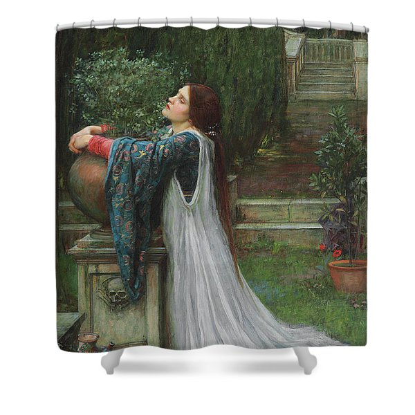 Isabella And The Pot Of Basil Shower Curtain