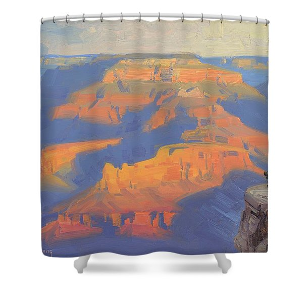 Isis In The Morning Shower Curtain