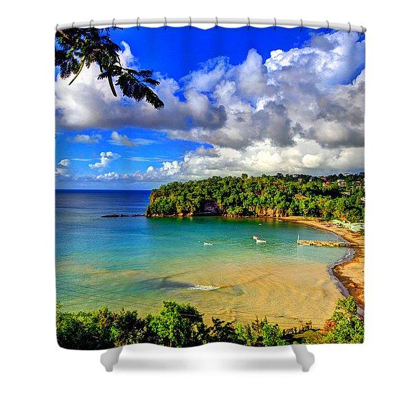 Island Bay Shower Curtain