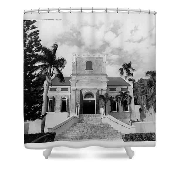Island Church  Shower Curtain