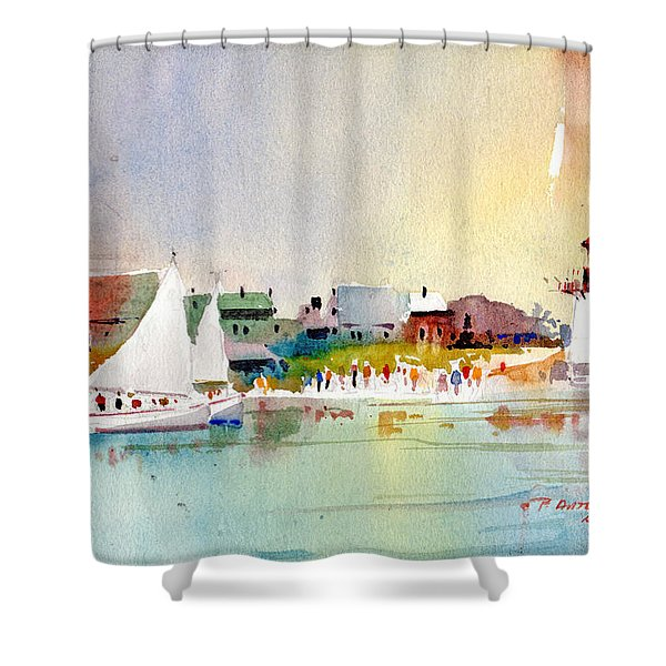 Island Light Shower Curtain