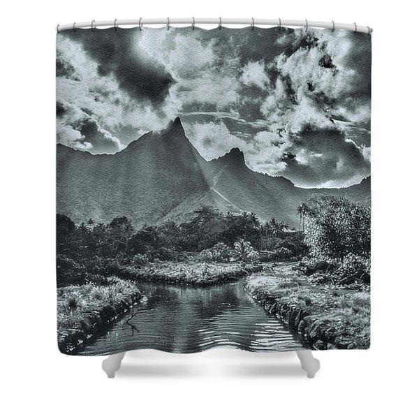 island Moorea Shower Curtain