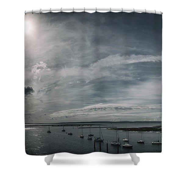 Island Panorama Shower Curtain