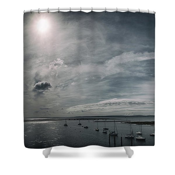 Island Panorama Shower Curtain