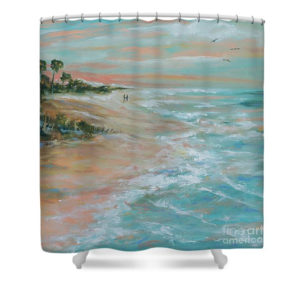 Island Romance Shower Curtain