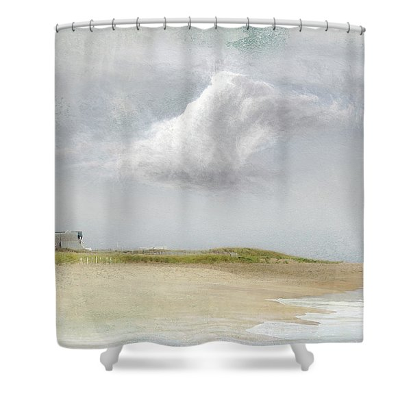 Island Sky Shower Curtain