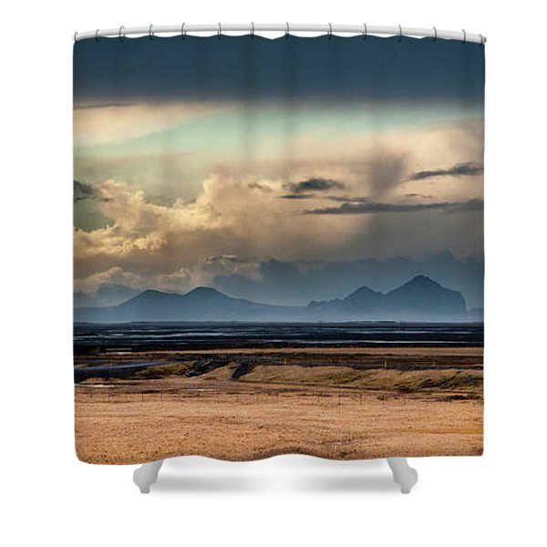 Islands In The Sky Shower Curtain