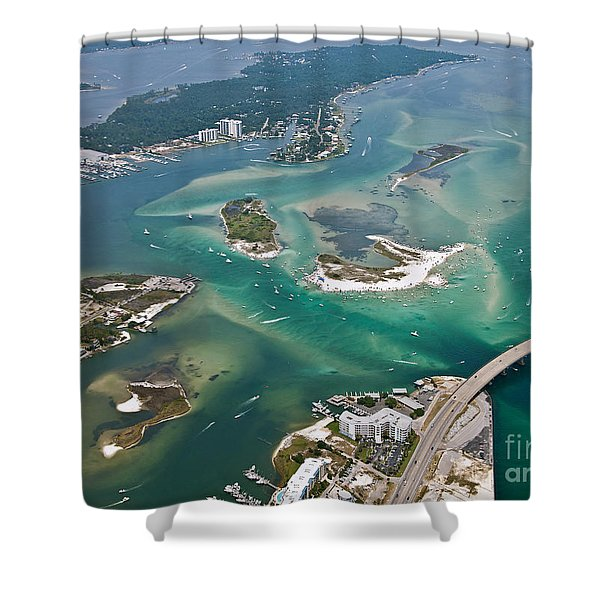 Islands Of Perdido - Not Labeled Shower Curtain