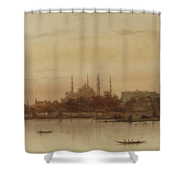Istanbul Shower Curtain