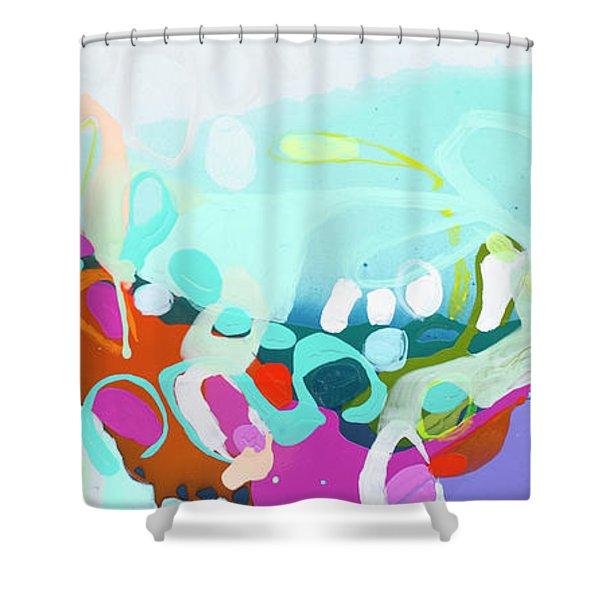 It Won't Be Long Shower Curtain