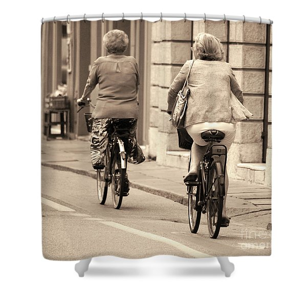 Italian Lifestyle Shower Curtain