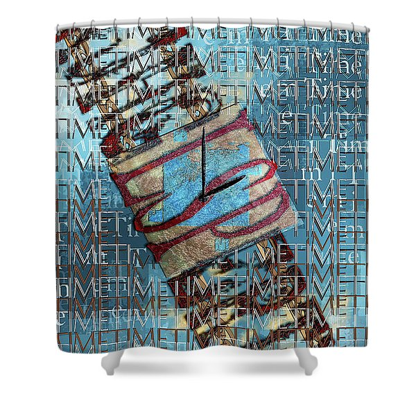 Its All About Time Shower Curtain