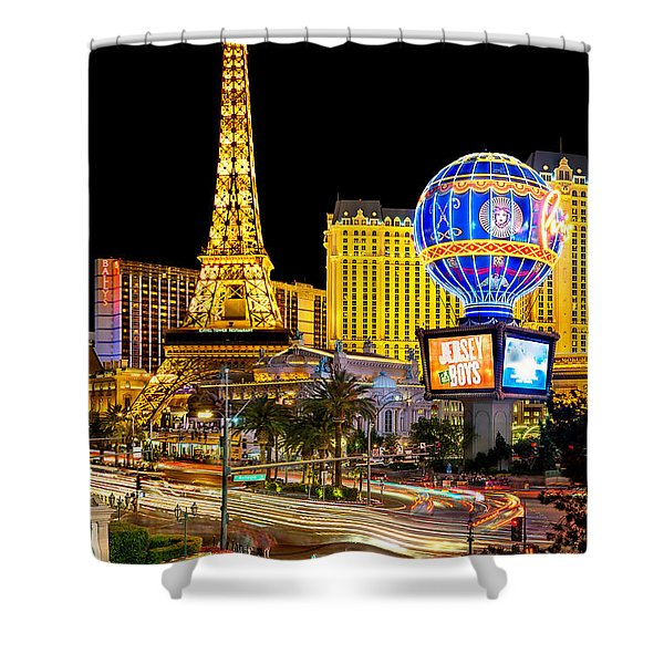 It's All Happening Shower Curtain