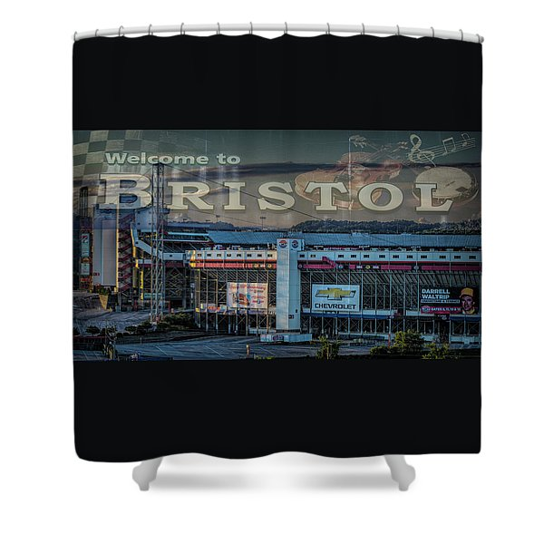 Its Bristol Baby Shower Curtain
