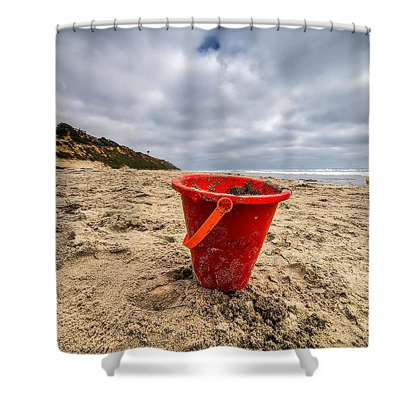 Its Good You Went To The Beach You Look A Little Pail Shower Curtain