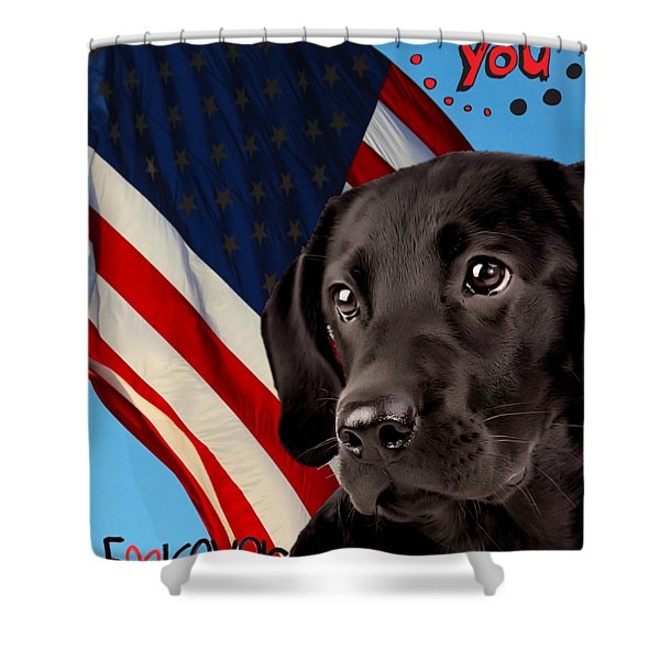 It's Just You And Me Shower Curtain