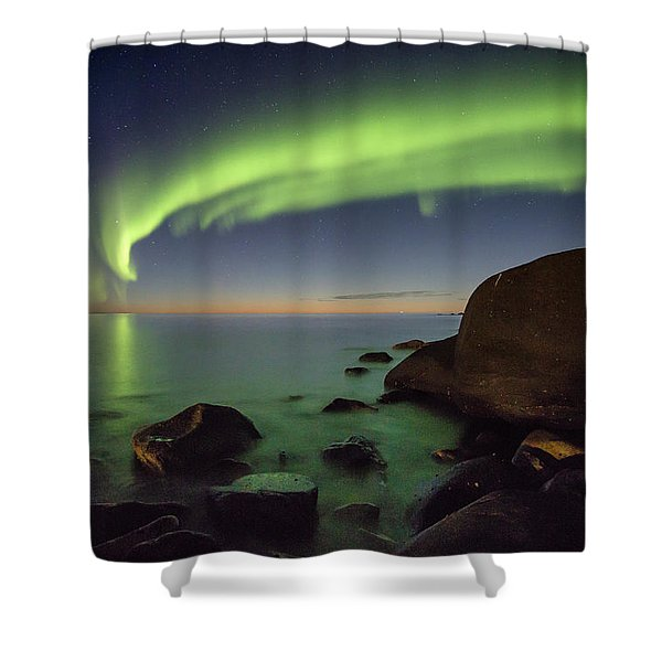 It's Not Even Night Yet Shower Curtain