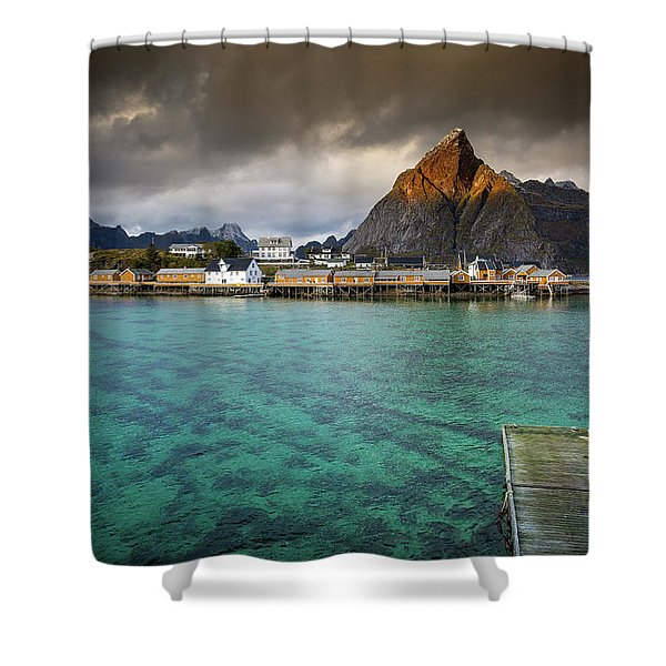 It's Not The Caribbean Shower Curtain