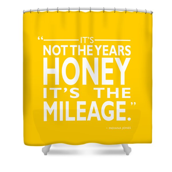 Its Not The Years Shower Curtain
