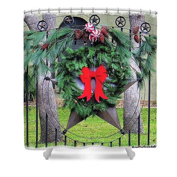 It's The Season For #celebration And Shower Curtain