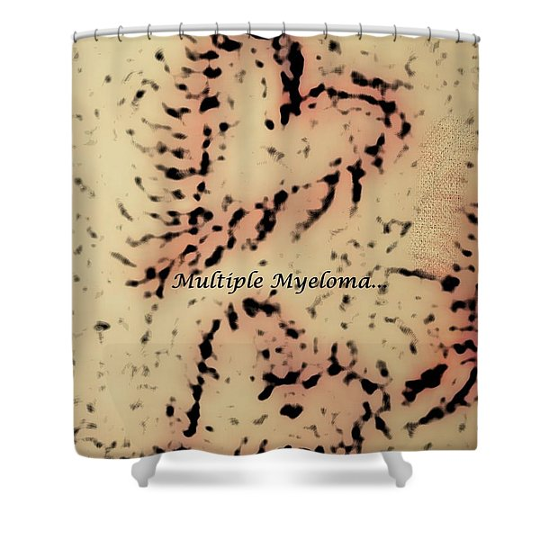 It's Time To Find A Cure... Shower Curtain