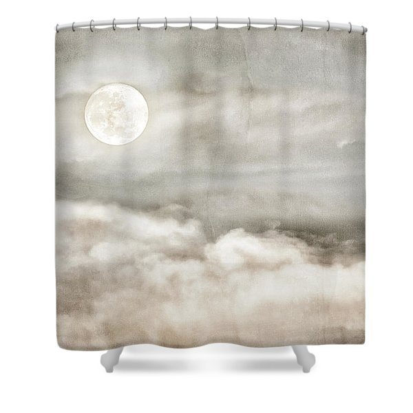 Ivory Moon Shower Curtain