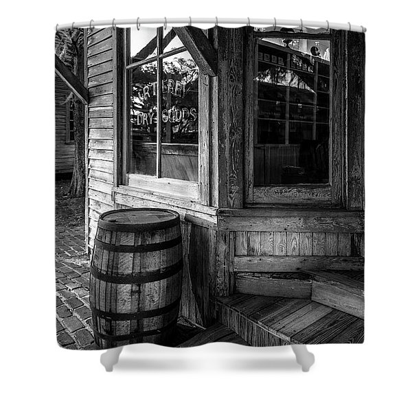 J. R. Terry Dry Goods 1879 Shower Curtain