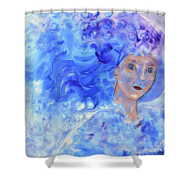 Jack Frost's Girl Shower Curtain