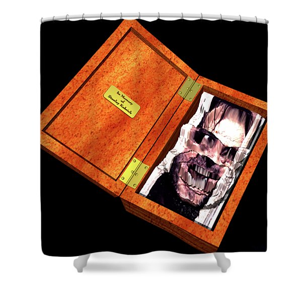 Jack In The Box Shower Curtain