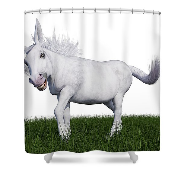 Jack Oss  Shower Curtain