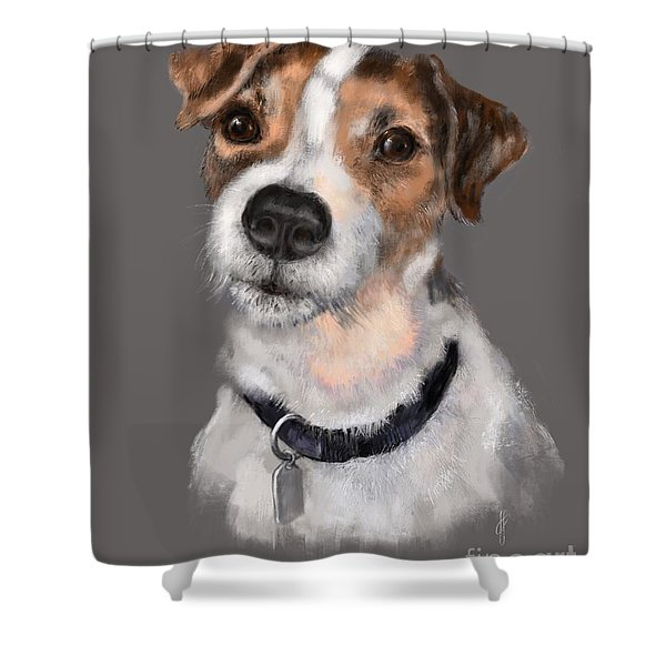 Jackson At Sunset Shower Curtain