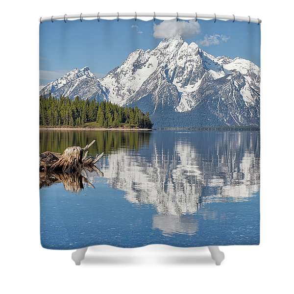Jackson Lake, Gtnp Shower Curtain