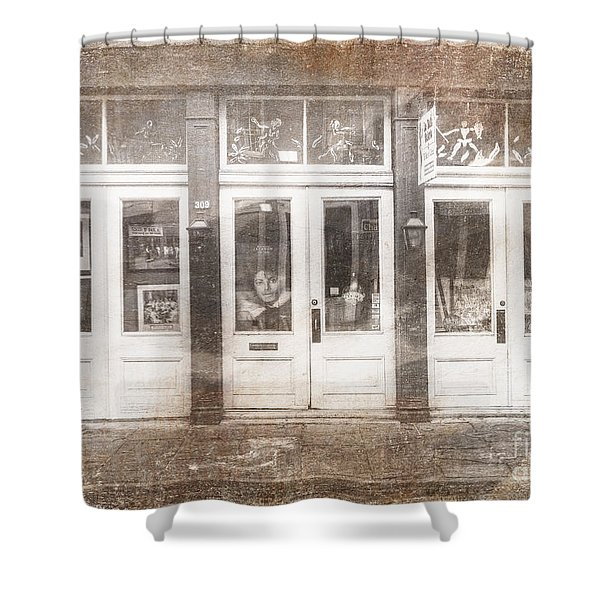 Jackson On Bourbon Street Shower Curtain