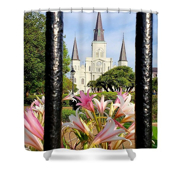 Jackson Spring  Shower Curtain