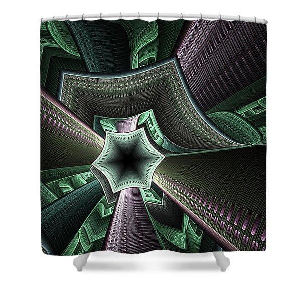 Jade Empress Shower Curtain