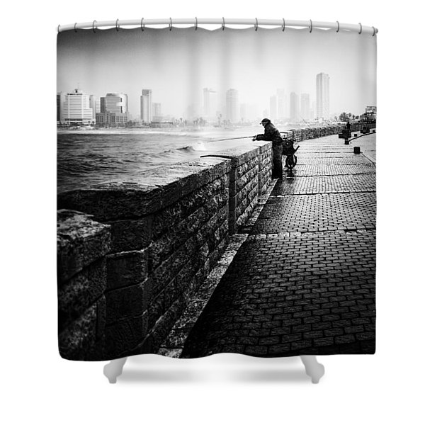 Jaffa Port Shower Curtain