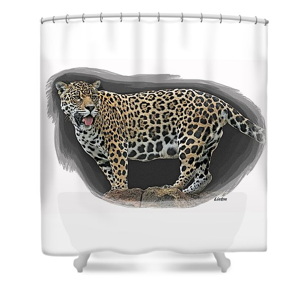 Jaguar 16 Shower Curtain