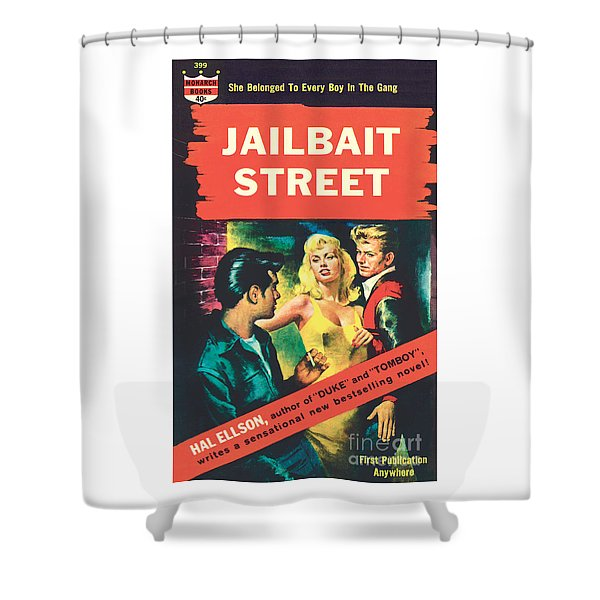 Jailbait Street Shower Curtain