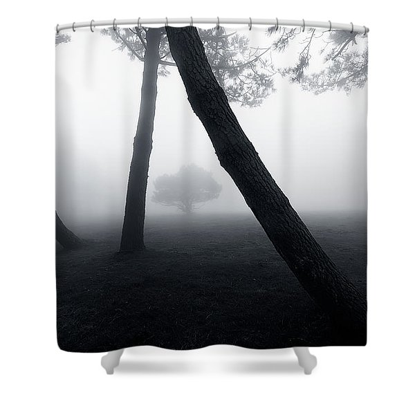 Jailed Shower Curtain