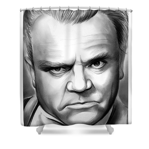 James Cagney Shower Curtain