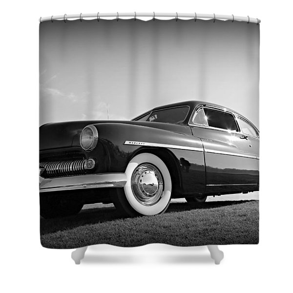 James Dean's Merc Shower Curtain