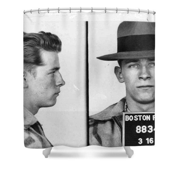 James Whitey Bulger Mug Shot 1953 Horizontal Shower Curtain