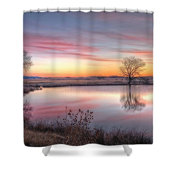 January Dawn Shower Curtain