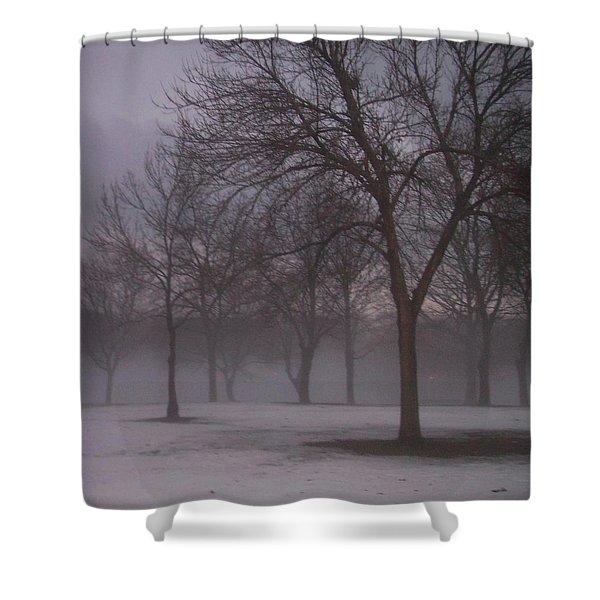 January Fog 4 Shower Curtain