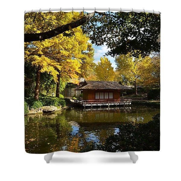 Japanese Gardens 2541a Shower Curtain