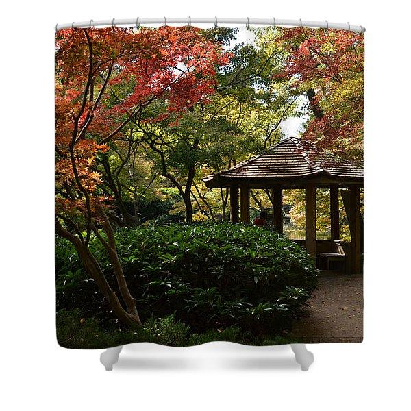 Japanese Gardens 2577 Shower Curtain