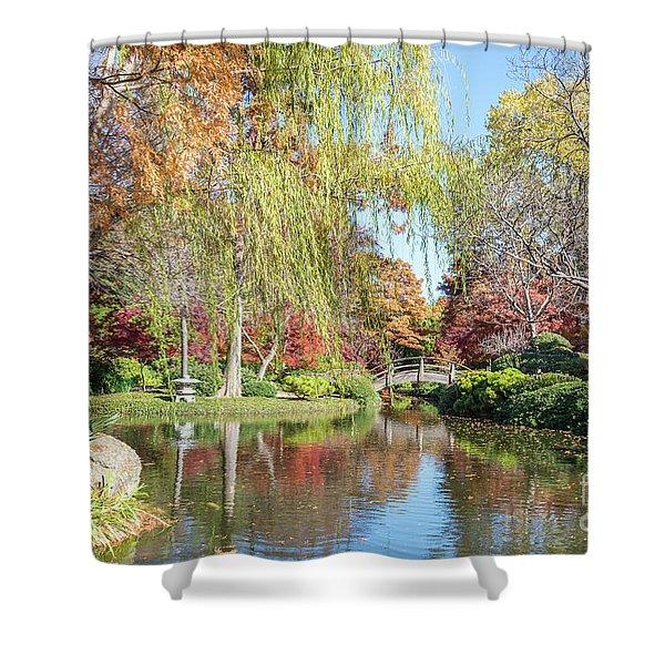 Japanese Gardens Shower Curtain