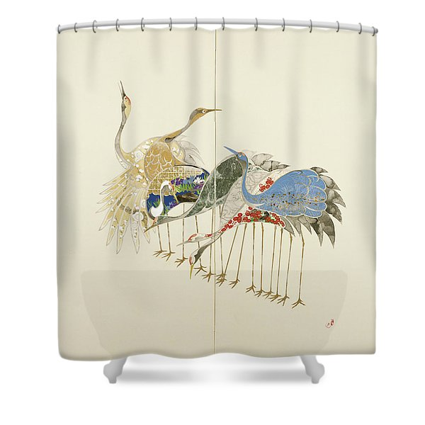 Japanese Modern Interior Art #125 Shower Curtain